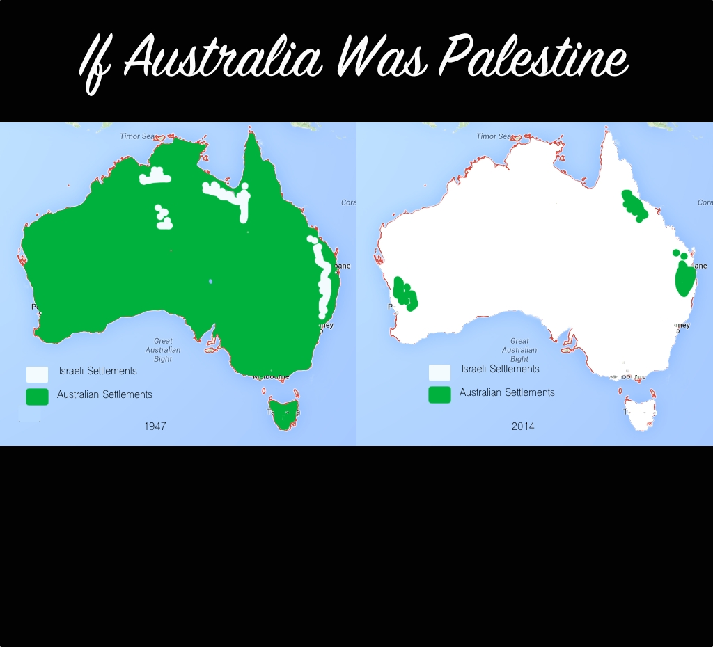 If Australia Was Palestine